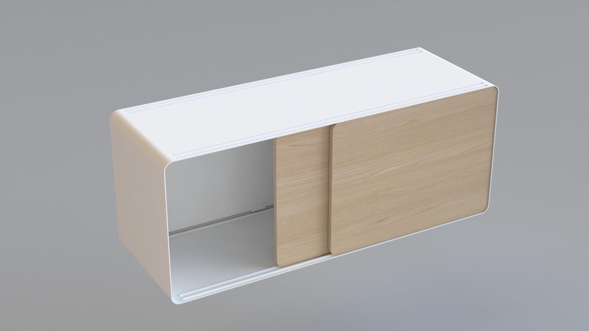 mobiletto 1c legno